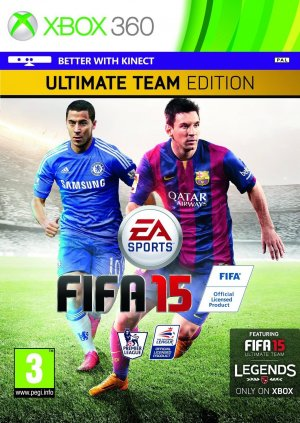 FIFA 15: Ultimate Team Edition box art