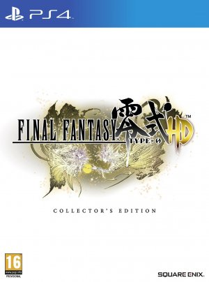 Final Fantasy Type-0 HD Collector's Edition box art