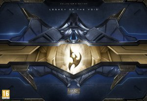 Starcraft 2  Legacy Of The Void Collectors Edition box art
