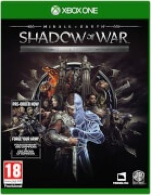 Middle Earth: Shadow of War Silver Edition box art