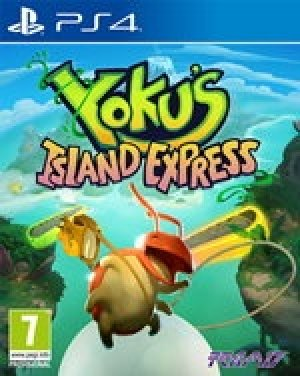 Yoku's Island Express box art