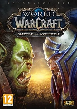 World Of Warcraft Battle For Azeroth box art