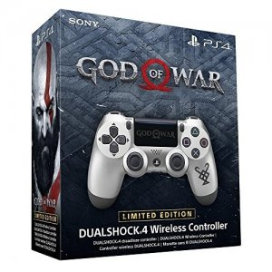 Sony Official Dualshock 4 Controller God Of War Limited Edition box art