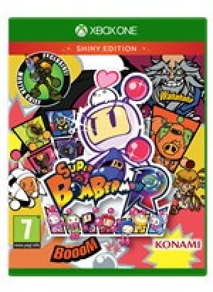 Super Bomberman R Shiny Edition box art